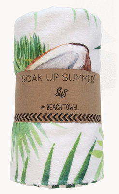 Beach Towel Coconut Love